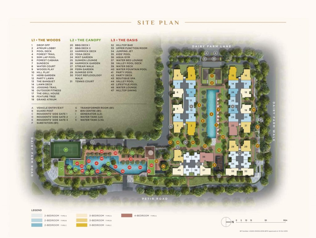Dairy Farm Site Plan